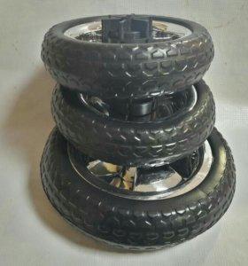 Колеса на трех колёсный