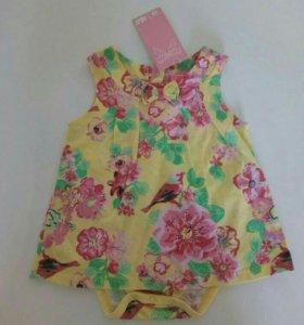 Новое нарядное платье Yo baby 86