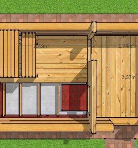 Строительство деревянных домов/дач/бань