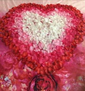 Лепестки роз набор тысяча штук.