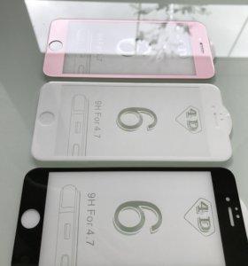 Защитное стекло для iPhone 6/6s,6 plus, 7, 7 plus