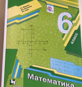 Учебник+ приложение  по математике 6 класс