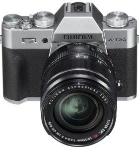 fujifilm x-t20 kit xf 18-55mm f2.8-4 r lm wr новй