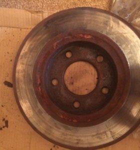 Продам диски тормозные передние на Додж караван