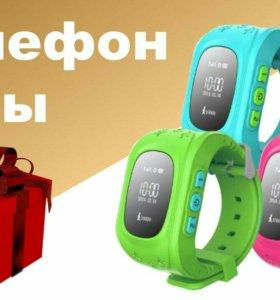 Новые Детские часы с gps