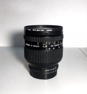 Nikon Nikkor AF 24-120mm 3.5-5.6 D