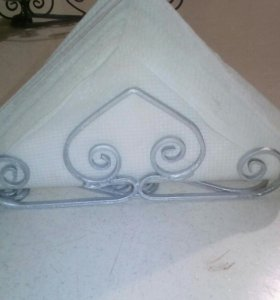 Салфетница металлическая(ювелирная ковка)