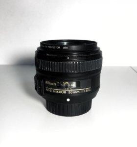 Nikon Nikkor AF-S 50mm 1.8G