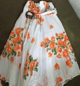 новая юбка - сарафан