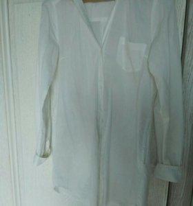 Рубашка длинная легкая 44-48