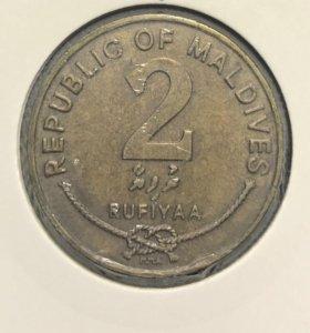 Монета Мальдивские острова