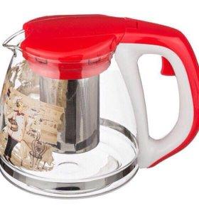 Заварочный чайник с фильтром 1,1 л
