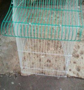 Клетка без днища для волнистого попугая