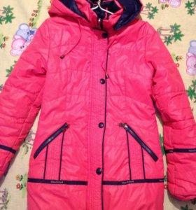 Куртки на девочку весна р-134, р-146