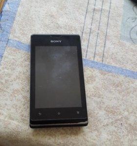 Телефон,sony Xperia E