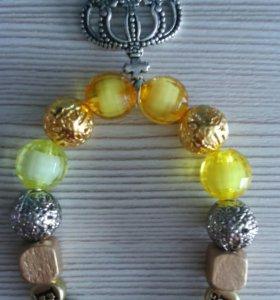 Именные браслеты и булавки в наличии и на заказ