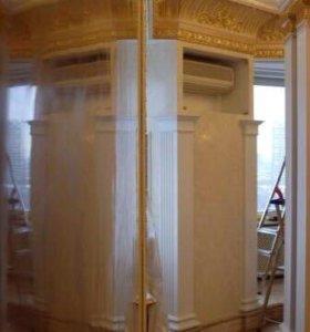 Ремонт квартир штукатурка, шпаклёвка, декоративка