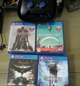 4 диска на PlayStation 4