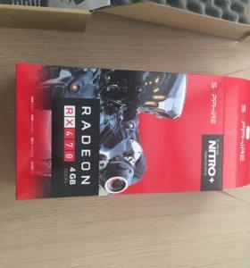 Видеокарта sapphire nitro+ radeon RX 470 OC