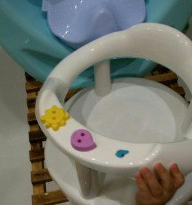 Детская ванночка, горка и стульчик