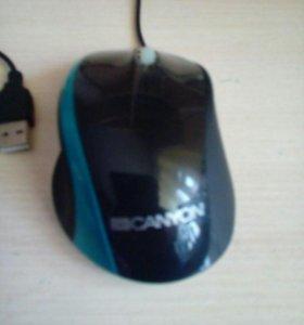 Мышь с подсвечиваемым колесиком для ПК, ноутбуков.