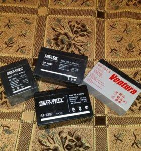 Аккумуляторы 12v4.5ah-12v7ah