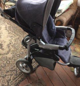 Прогулочная коляска peg perego gt3 denim