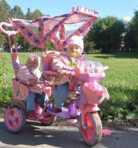 Велосипед для двух принцесс