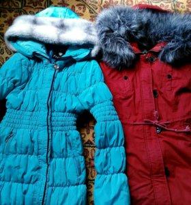 куртка женская парка мода