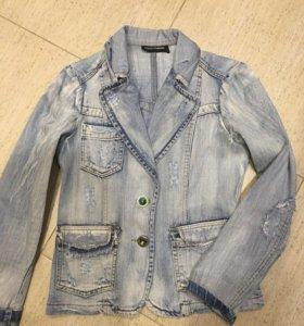 Джинсовая куртка 46 размер ( M )