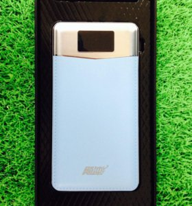 Новый Power Bank 11800 mAh Smart голубой