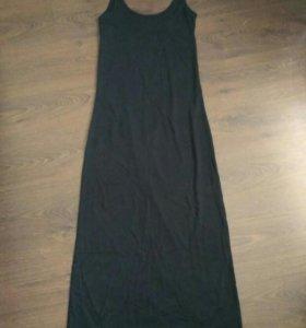 Платье - майка чёрное