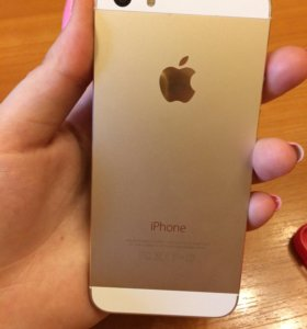 Продам iPhone 5s 32gb gold