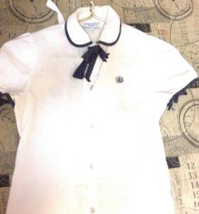 Блуза белая р-152