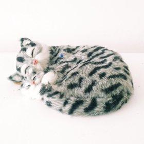 Игрушка кошка и котёнок дышащие
