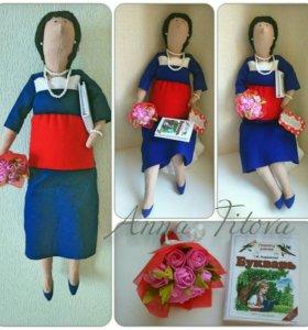 Портретная кукла на заказ
