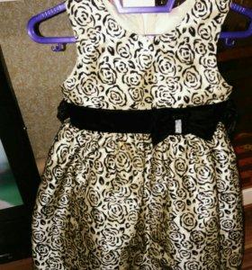 Платье на девочку,3-4 года