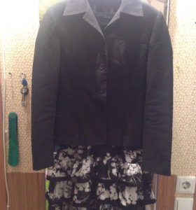 Пиджак+платье 42-44