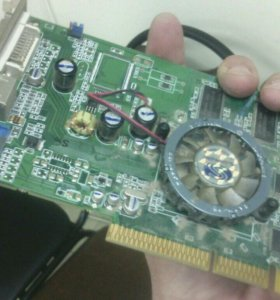 Видеокарта Sapphire Radeon 9600 Pro Advantage (128