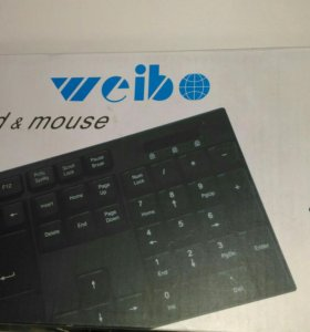 Беспроводная клавиатура с мышкой
