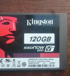 SSD kingston 120 GB.