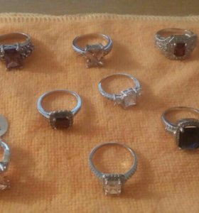 Кольца стерлинговое серебро 925