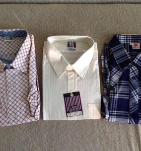 Мужские рубашки сорочки