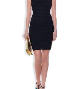 Новое чёрное платье Herve Leger (оригинал)