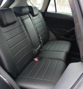 Авточехлы из экокожи на Mazda