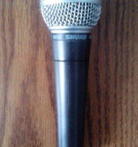 Микрофон shur betta 58