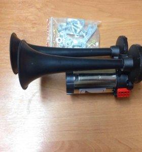 Сигнал пневматический звуковой с компрессором 24V