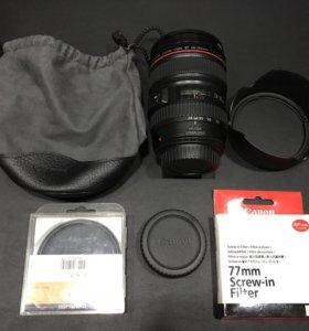 Продам объектив Canon Zoom Lens EF 24-105mm