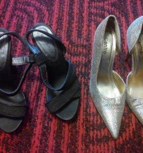 36 размера босоножки и туфли