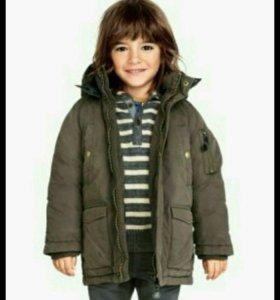 Куртка Н&M размер 110